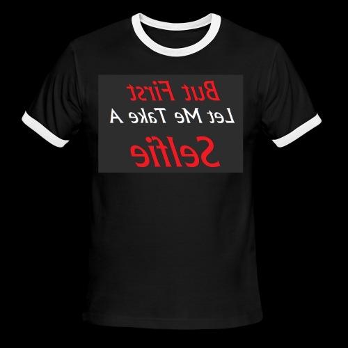 Let's Take Selfie - Men's Ringer T-Shirt