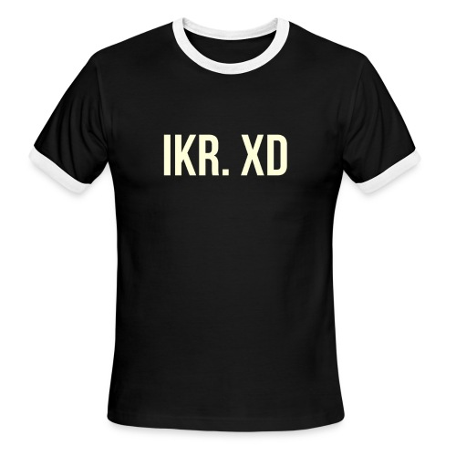 IKR. XD - Men's Ringer T-Shirt