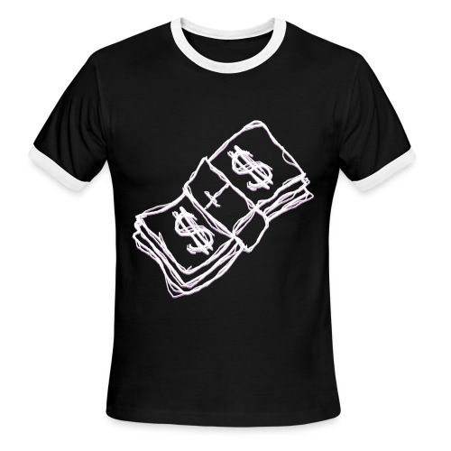 c a s h - Men's Ringer T-Shirt