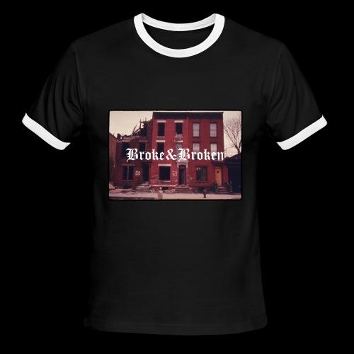 Broke and Broken Vintage NYC - Men's Ringer T-Shirt