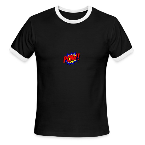 Pow T-shirt - Men's Ringer T-Shirt