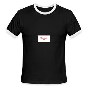 Thompson TV - Men's Ringer T-Shirt