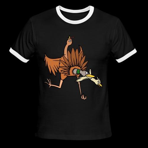 TURDUCKEN TIME! - Men's Ringer T-Shirt