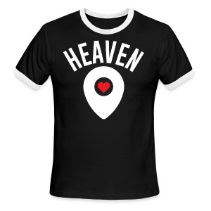 Heaven Is Right Here - Men's Ringer T-Shirt