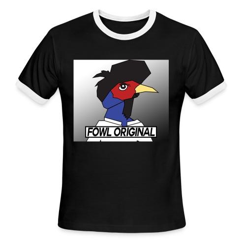Fowl Original Logo - Men's Ringer T-Shirt