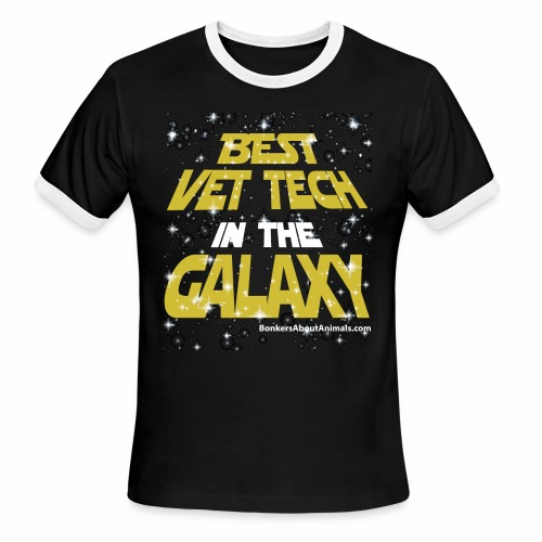 Best Vet Tech in the Galaxy - T-Shirt - Men's Ringer T-Shirt