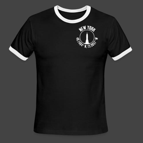 New York Coords - Men's Ringer T-Shirt