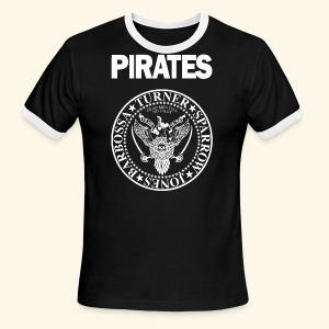 Punk Rock Pirates [heroes] - Men's Ringer T-Shirt