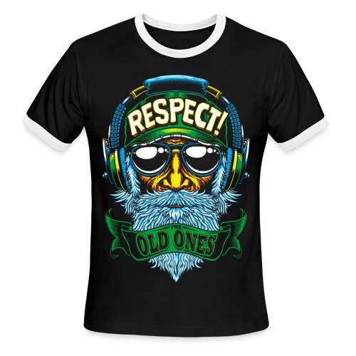 RESPECT - Men's Ringer T-Shirt