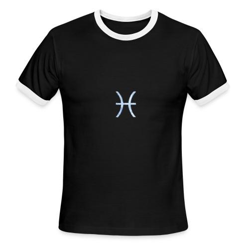 Pisces Glyph - Men's Ringer T-Shirt