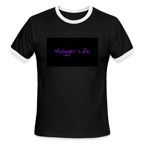Vlogger Life - Men's Ringer T-Shirt