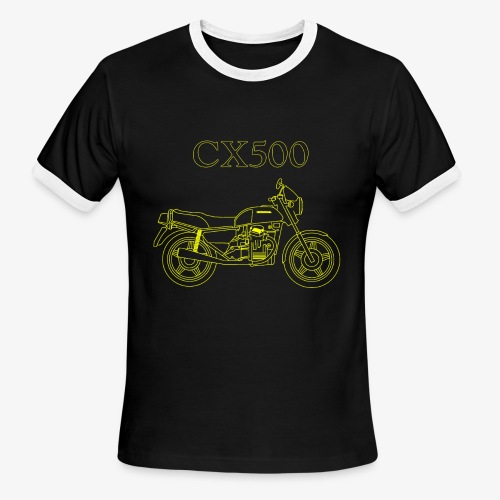 CX500 line drawing - Men's Ringer T-Shirt