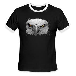 eagle2 - Men's Ringer T-Shirt