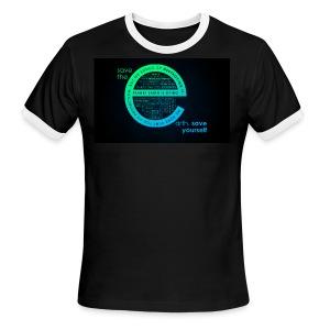 save the earth for UAE - Men's Ringer T-Shirt