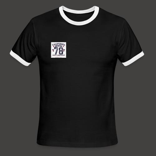 California Tropic Men's T-Shirt - Men's Ringer T-Shirt