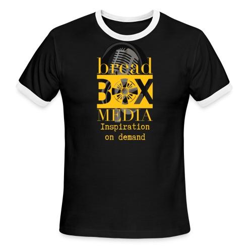 Breadbox Media - Inspiration on demand - Men's Ringer T-Shirt