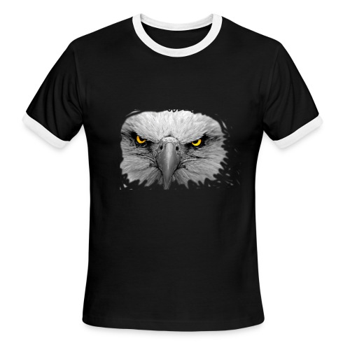 eagle2 - Men's Ringer T-Shirt