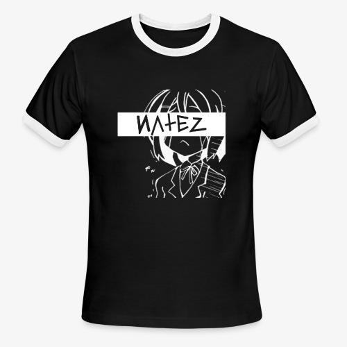 NATEZ Logo - Men's Ringer T-Shirt