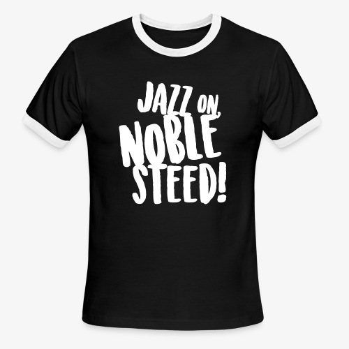 MSS Jazz on Noble Steed - Men's Ringer T-Shirt