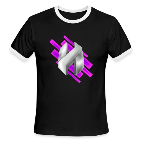 Abstract Purple - Men's Ringer T-Shirt