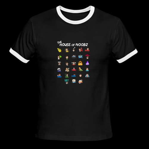 Emote List - Men's Ringer T-Shirt