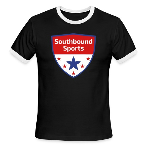 Southbound Sports Crest Logo - Men's Ringer T-Shirt