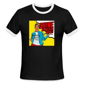 Shine No Matter What - Men's Ringer T-Shirt