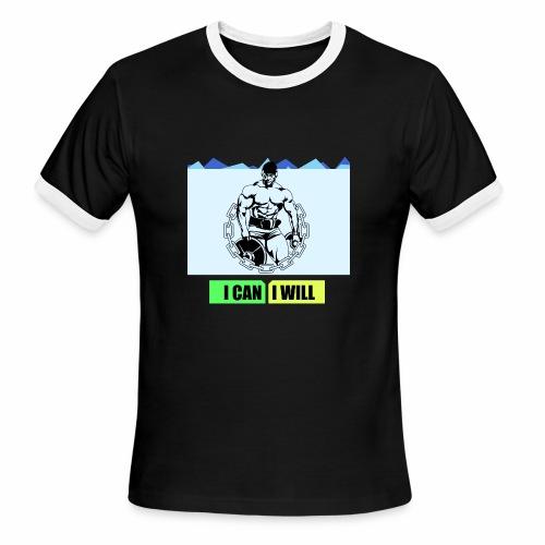 I can I will - Men's Ringer T-Shirt