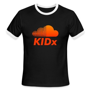 SOUNDCLOUD RAPPER KIDx - Men's Ringer T-Shirt