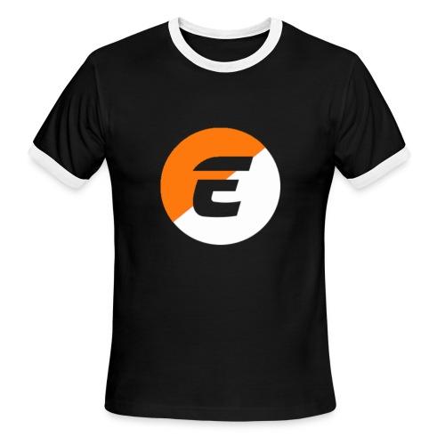 EMBER NATION TEE - Men's Ringer T-Shirt