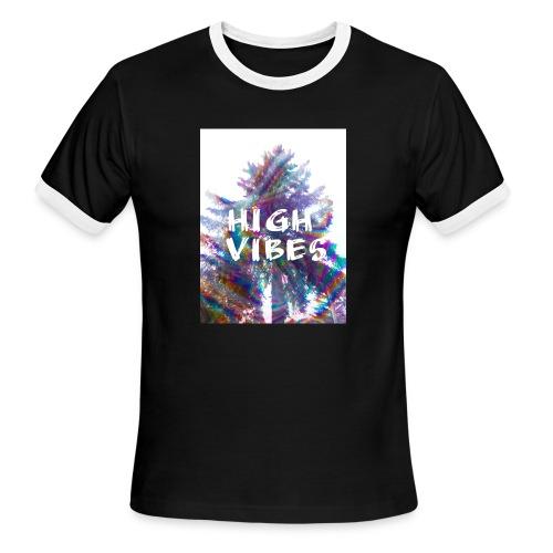 High vibes - Men's Ringer T-Shirt