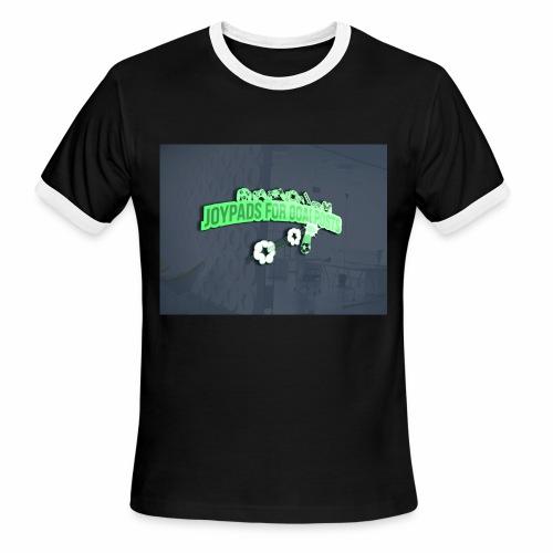 3D Mockup - Men's Ringer T-Shirt