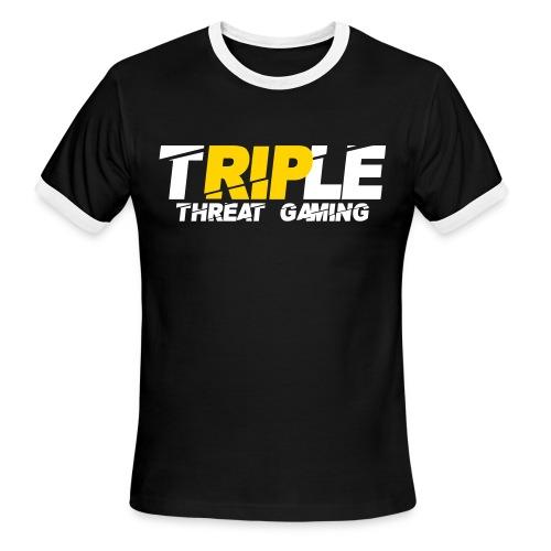 Triple Threat Gaming - Men's Ringer T-Shirt