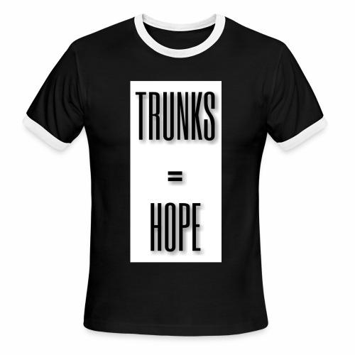 TRUNKS=HOPE - Men's Ringer T-Shirt