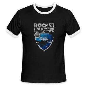 Rocket League Grunge T-Shirt - Men's Ringer T-Shirt