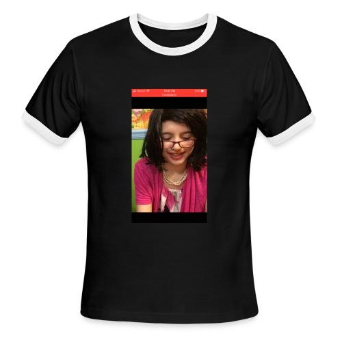 RyFitz as a Girl - Men's Ringer T-Shirt