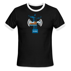 Paul in Rio Radio - The Thumbs up Corcovado #2 - Men's Ringer T-Shirt