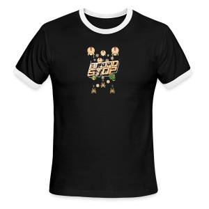 Brood Stop: Pew Pew Pew - Men's Ringer T-Shirt