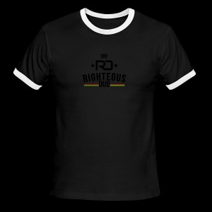 Righteous Dub Logo - Men's Ringer T-Shirt
