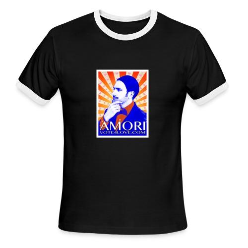 Amori_poster_1d - Men's Ringer T-Shirt