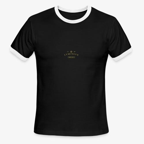 Luminous Original logo - Men's Ringer T-Shirt