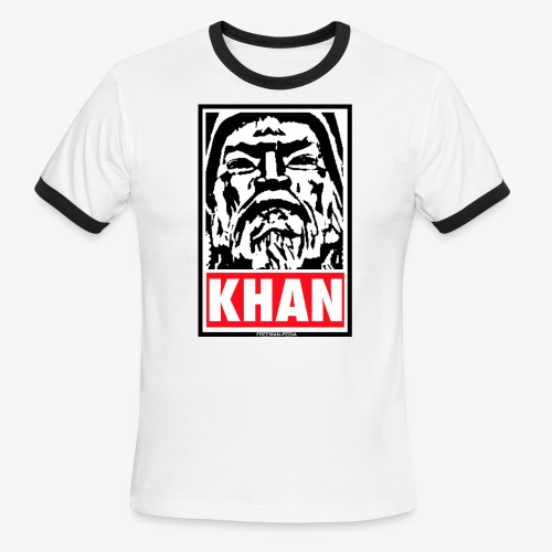 Obedient Khan - Men's Ringer T-Shirt