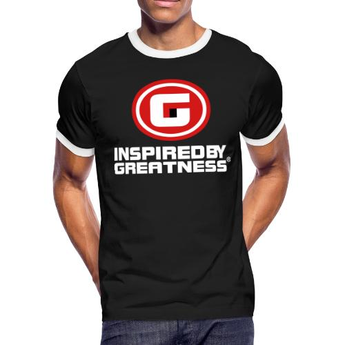 Inspired by Greatness® IG © All right's reserved - Men's Ringer T-Shirt