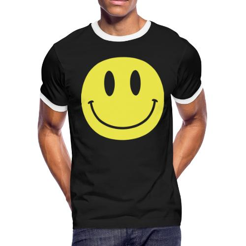 Smiley - Men's Ringer T-Shirt