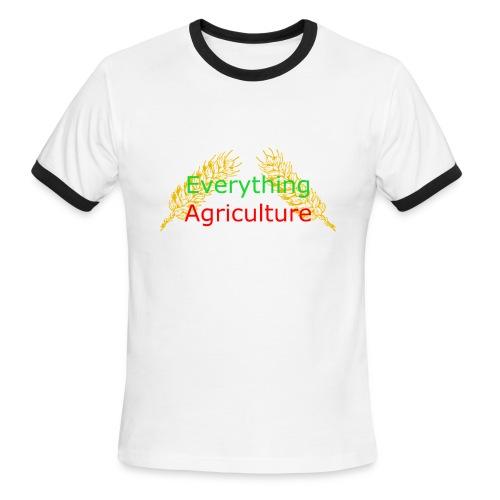 Everything Agriculture LOGO - Men's Ringer T-Shirt