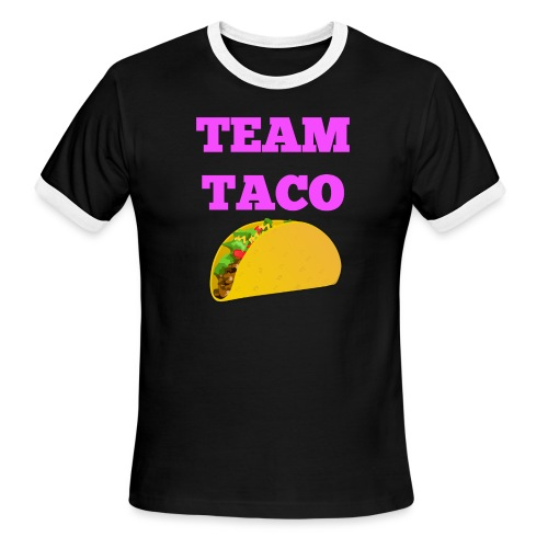 TEAMTACO - Men's Ringer T-Shirt