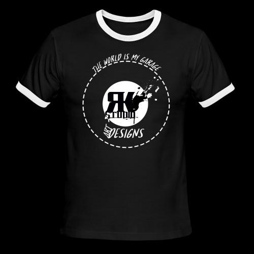 The World is My Garage - Men's Ringer T-Shirt