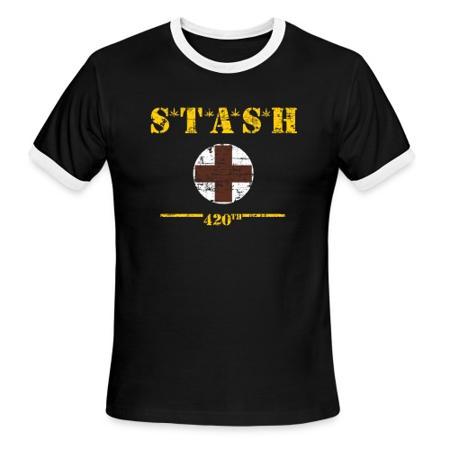 STASH-Final - Men's Ringer T-Shirt