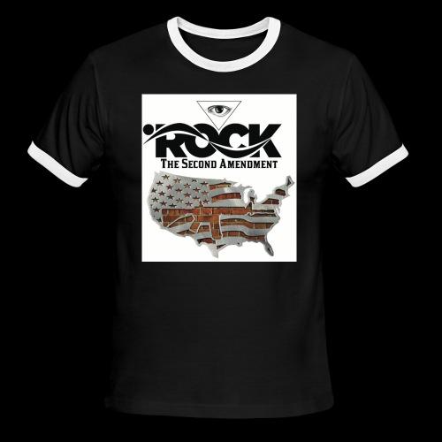 Eye Rock the 2nd design - Men's Ringer T-Shirt
