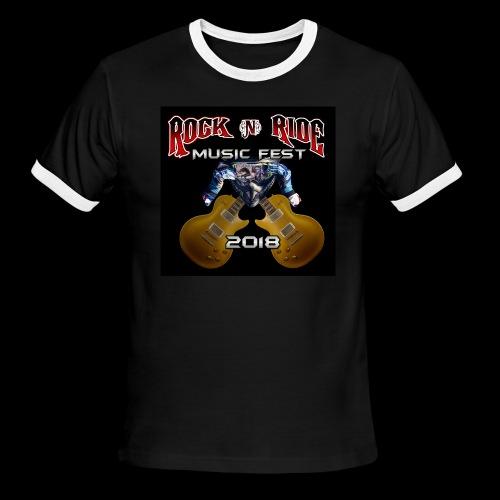 RocknRide Design - Men's Ringer T-Shirt